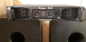 Pojačalo P Audio PA6 i bas kutije