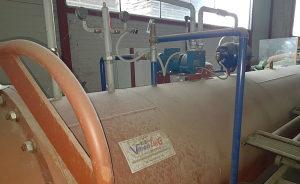 Cisterna za impregniranje drveta