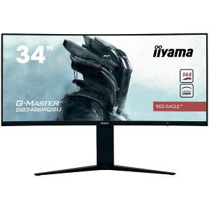 """IIYAMA Monitor 34"""" GB3466WQSU-B1 21:9 UW Pro-Gaming Cu"""