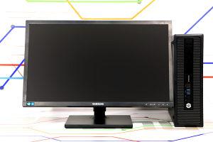KOMPLET - HP i5 4GEN - 24 inch LED