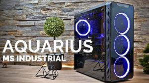 Aquarius RGB Rx 580 8GB Gamer: Ryzen 3600 12x3.6-4.2GHz