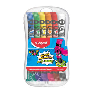 Tempere PVC 12x12ml blister Maped 810520 BACK TO SCHOOL