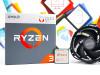 Procesor AMD Ryzen 3 2200G 4C/4T s coolerom