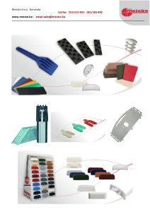 Materijal za proizvodnju AL i PVC stolarije