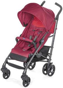 Chicco kolica za bebe kisobran Lite Way 3 crvena 0+mj.