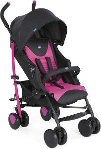 Chicco kolica za bebe ECHO kisobran sa navlakom roze