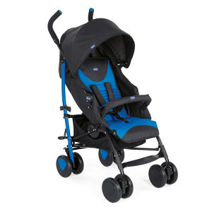 Chicco kolica za bebe ECHO kisobran sa navlakom plava