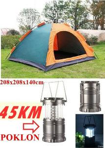 Sator 208x208x145cm i fenjer lampa
