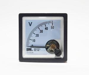 Voltmetar analogni 50VDC, 48x48mm