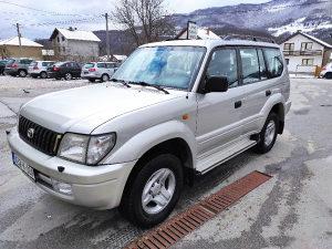 Toyota Land Cruiser 3.0 dizel 120 KW 2001 GOD 7 SJEDIŠT