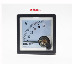 Voltmetar analogni 15VDC, 48x48mm