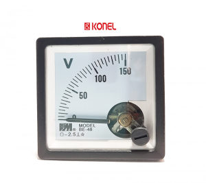 Voltmetar analogni 150VDC, 48x48mm