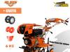 motorni kultivator freza kopačica Ruris 651 KSD DIZEL