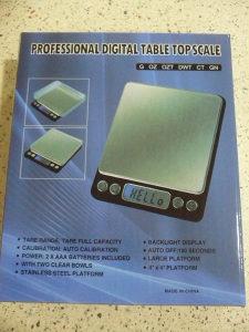 Vaga digitalna elektronska zlatarska 1>500gr crna
