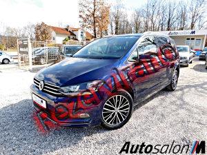 Volkswagen Touran 2.0 TDI–190 KS DSG CARAT, 7-Sjedišta