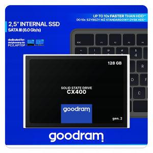 SSD disk GOODRAM 128GB 128 GB CX400