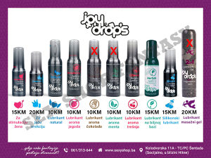 JoyDrops Kozmetika #lubrikant #preparati   sexyshop.ba