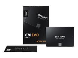 SSD SAMSUNG 500GB 870 EVO SATA 3