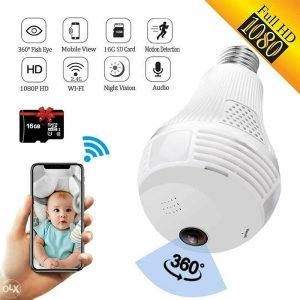 Wifi kamera u sijalici - Špijunska kamera