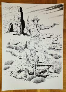 Tex Willer ilustracija Walter Venturi