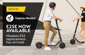 """Segway E25 9"""" romobil KickScooter E25E skuter trotinet"""