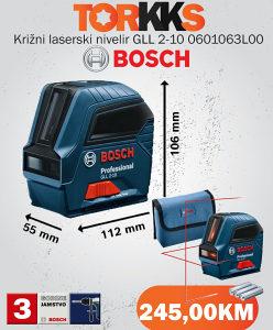 Laserski nivelir BOSCH