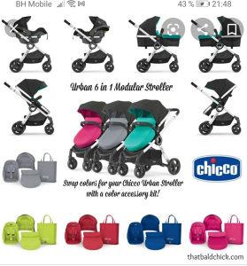Set za kolica za bebe Chicco Urban
