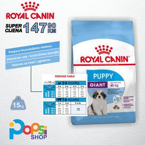 Premium hrana za pse i štenad – Giant Puppy 15kg