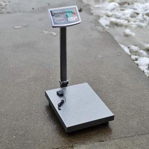 Digitalna vaga do 150 kg