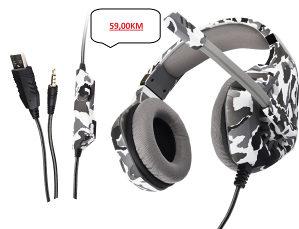Gaming slušalice sa LED svjetlom