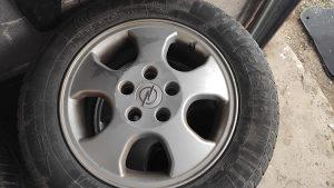 Alu felge 15 + zimske gume - Opel