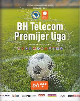 BH Telecom Premijer liga 17/18 album + set