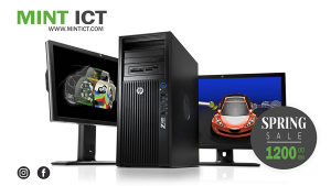 Računar Z420 +  2 Monitora HP Z23n