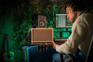 Blackstar pojačalo za aksutičnu gitaru  i  mikrofon