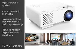 Projektor idealan za prezentacije ili kućno kino