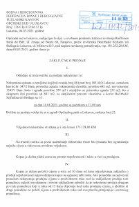 Prodaja privredne zgrade Lukavac