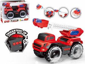 Vatrogasni kamion na baterije, igracka, igracke