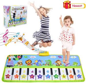 Muzički klavir prostirka za djecu