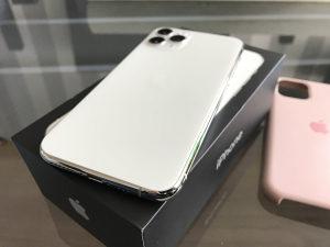 Apple iPhone 11 PRO 64 GB Silver KAO NOV
