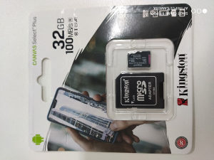 Kingston Canvas MicroSD 32GB