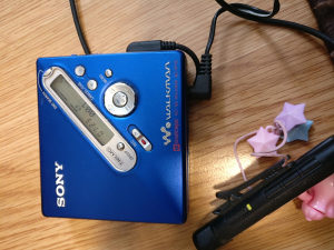 Sony mini disk rekorder