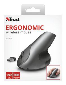 Varo Wireless Ergonomic Mouse...