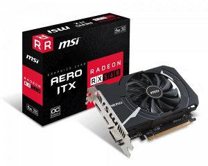 VGA MSI AMD Radeon RX 560 AERO ITX 4G OC...