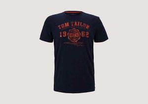 Majica Tom Tailor Logo muška 10100863710-10302