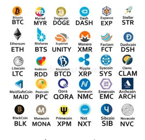 Bitcoin Ethereum XRP LTC....