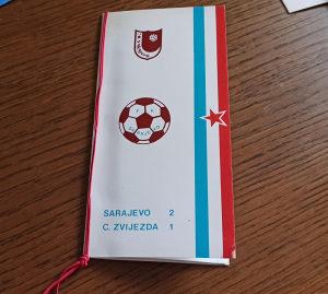 FK Sarajevo titula 1985 svečana večera - meni
