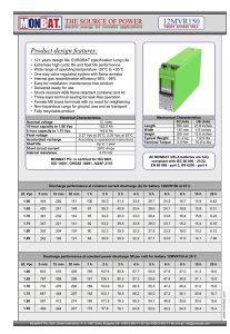 Solarne baterije MONBAT