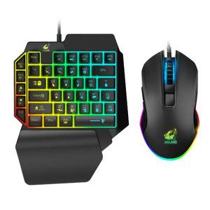 Gaming Mini Tastatura i Miš TI Rainbow RGB
