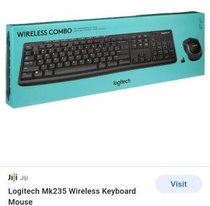 Tastatura i miš Logitech Mk235 wireless