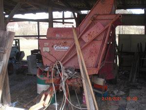 Kombajn za krompir GRIMME vadilica